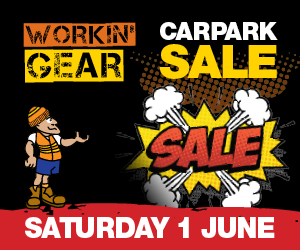 Workin Gear - Carpark sale - MREC